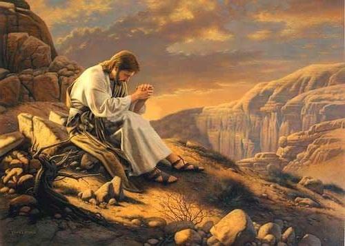 jesus en el desierto